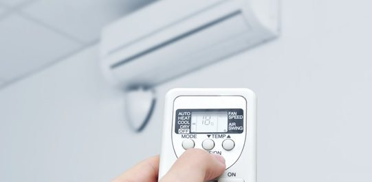 remote for ductless heating