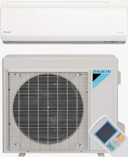 Ductless indoor and outdoor air conditioner